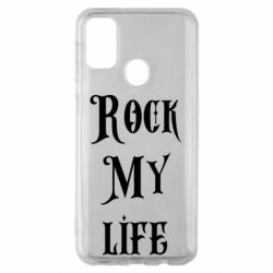 Чехол для Samsung M30s Rock my life