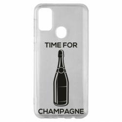 Чохол для Samsung M30sTime for champagne