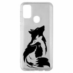 Чехол для Samsung M30s Wolf And Fox