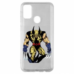 Чохол для Samsung M30s Wolverine comics