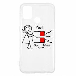Чехол для Samsung M31 2302Our love story2