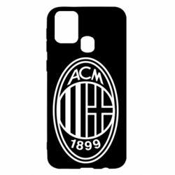 Чохол для Samsung M31 AC Milan logo