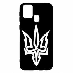 Чохол для Samsung M31 Acute coat of arms of Ukraine