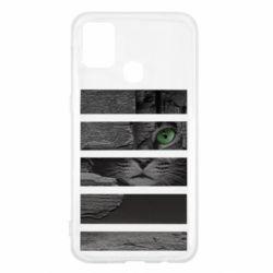 Чехол для Samsung M31 All seeing cat