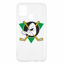 Чехол для Samsung M31 Anaheim Mighty Ducks