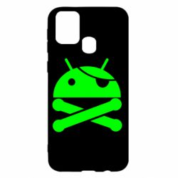 Чохол для Samsung M31 Pirate Android