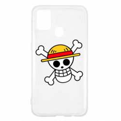 Чохол для Samsung M31 Anime logo One Piece skull pirate