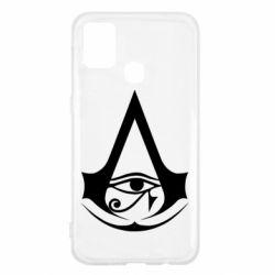 Чохол для Samsung M31 Assassin's Creed Origins logo