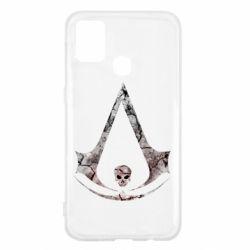Чехол для Samsung M31 Assassins Creed and skull