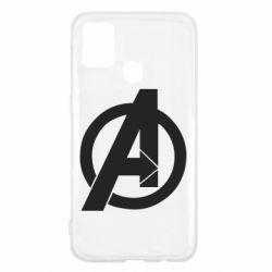 Чохол для Samsung M31 Avengers logo