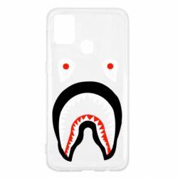 Чехол для Samsung M31 Bape shark logo