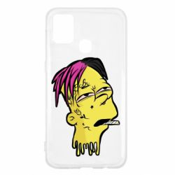 Чехол для Samsung M31 Bart as Lil Peep