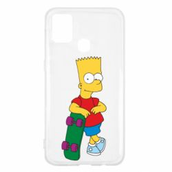 Чохол для Samsung M31 Bart Simpson