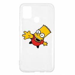 Чехол для Samsung M31 Барт Симпсон