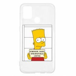 Чехол для Samsung M31 Барт в тюряге