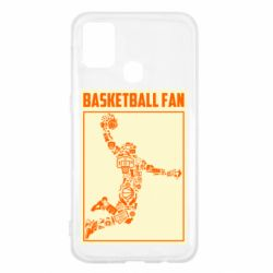 Чохол для Samsung M31 Basketball fan
