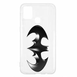 "Чехол для Samsung M31 Batman ""3d Logo"""