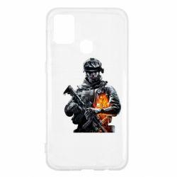 Чехол для Samsung M31 Battlefield Warrior