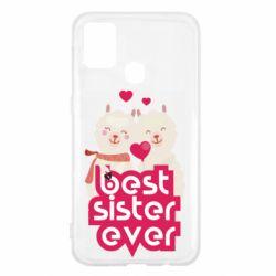 Чохол для Samsung M31 Best sister ever