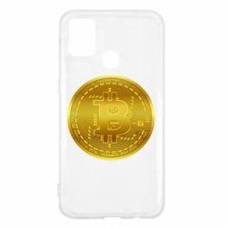 Чохол для Samsung M31 Bitcoin coin