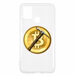 Чохол для Samsung M31 Bitcoin Hammer