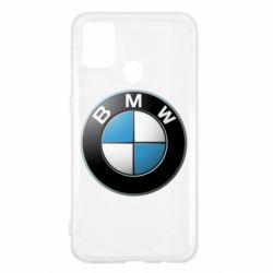 Чехол для Samsung M31 BMW Logo 3D