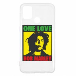 Чехол для Samsung M31 Bob Marley One Love