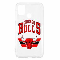 Чохол для Samsung M31 Великий логотип Chicago Bulls