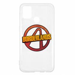 Чехол для Samsung M31 Borderlands logotype