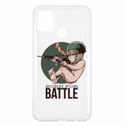 Чехол для Samsung M31 Born For Battle