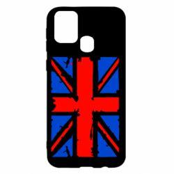 Чехол для Samsung M31 Британский флаг