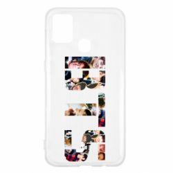 Чехол для Samsung M31 BTS collage