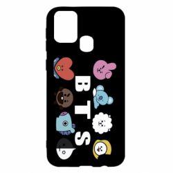 Чохол для Samsung M31 Bts emoji