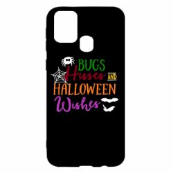 Чохол для Samsung M31 Bugs Hisses and Halloween Wishes