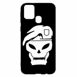 Чехол для Samsung M31 Call of Duty Black Ops logo