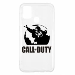 Чохол для Samsung M31 Call of Duty логотип