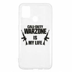 Чехол для Samsung M31 Call of duty warzone is my life M4A1
