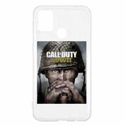 Чохол для Samsung M31 Call of Duty WW2 poster