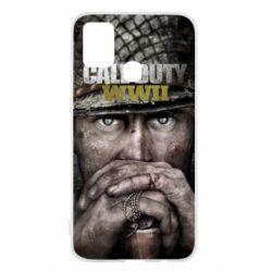 Чехол для Samsung M31 Call of Duty WWII