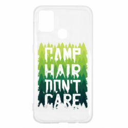 Чехол для Samsung M31 Camp hair don't care