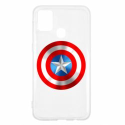 Чехол для Samsung M31 Captain America 3D Shield