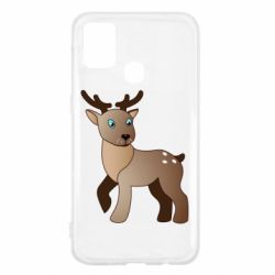 Чехол для Samsung M31 Cartoon deer