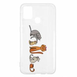 Чехол для Samsung M31 Cat family
