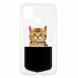 Чехол для Samsung M31 Cat in your pocket