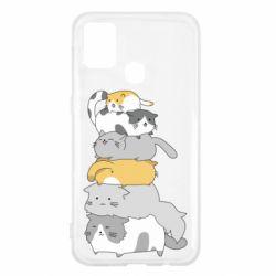 Чохол для Samsung M31 Cats