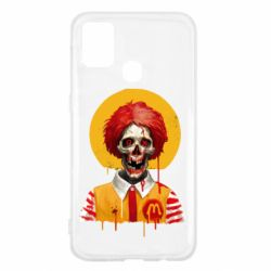 Чохол для Samsung M31 Clown McDonald's skeleton