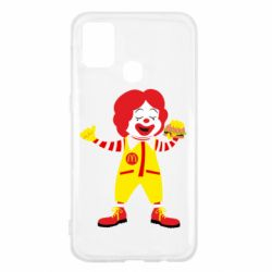 Чохол для Samsung M31 Clown McDonald's