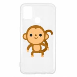 Чохол для Samsung M31 Colored monkey