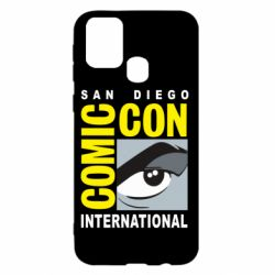 Чохол для Samsung M31 Comic-Con International: San Diego logo