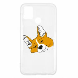 Чохол для Samsung M31 Corgi is dozing